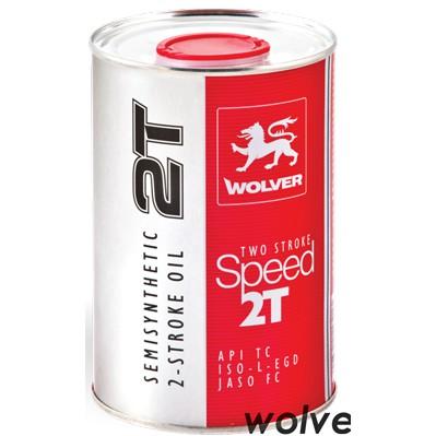 Dầu nhớt cao cấp dành cho xe 2 thì Wolver Speed 2T 1L