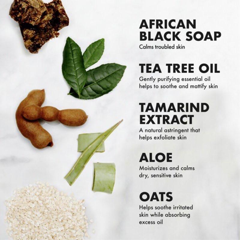 Xà phòng đen châu Phi giảm mụn SheaMoisture African Black Soap Bar