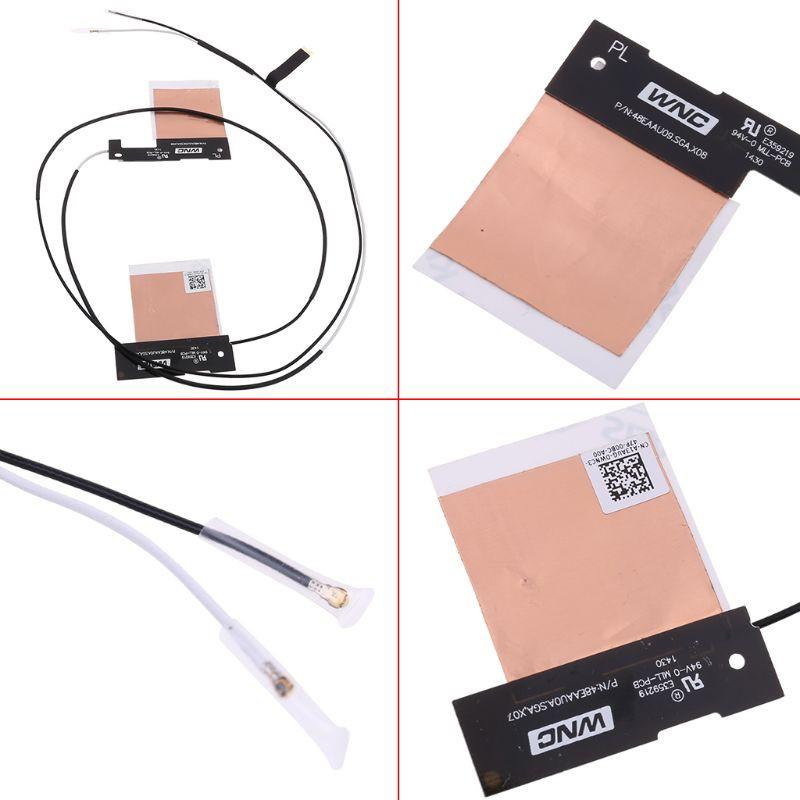 Cặp cáp ăng ten WiFi không dây NGFF M.2 IPEX MHF4 cho In-tel AX200 9260 9560