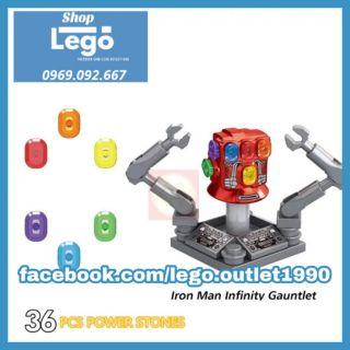 Xếp hình Iron man Infinity Gauntlet Lego Minifigures Xinh Xh1361 thumbnail