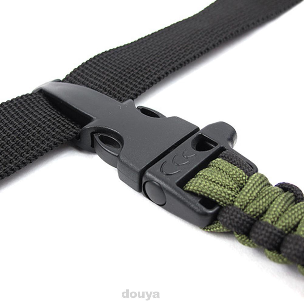 Outdoor Tool Camping Hiking Emergency Paracord Whistle Buckles For Bracelet