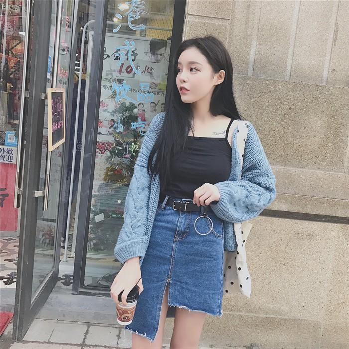 chân váy bò Quảng Châu order211