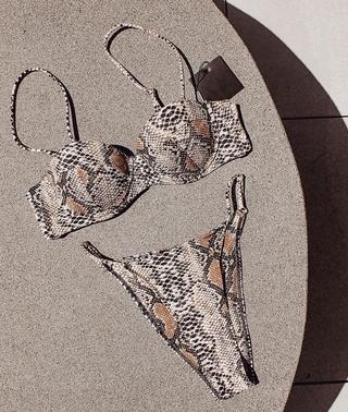 bikini da beo nâng ngực