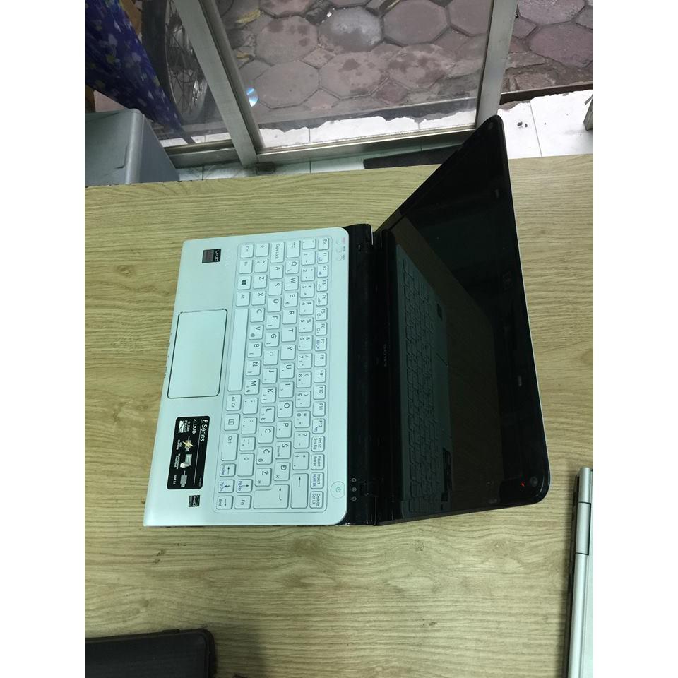 Hot laptop Sony Vaio SVE15 TRẮNG core i5-3210M Ram 4gb ổ cứng 320gb fui phím số cạc HD 4000 Tặng túi,chuột không dây