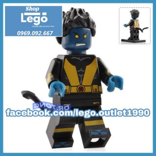 Xếp hình NightCrawler X-men Lego Minifigures Wm535 wm6028 thumbnail