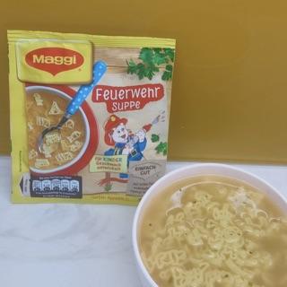 Nui ăn liền Maggi cho bé 9m+ nđ Đức (1 gói 3 phần ăn) 6