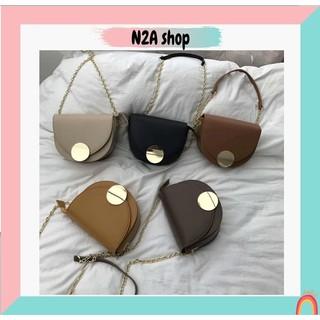 Túi xách nữ [Có sẵn] Túi đeo chéo chất da Pu N2a shop