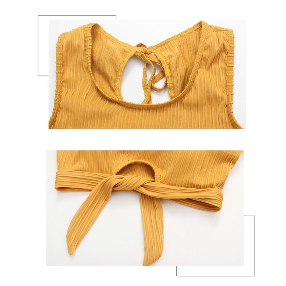 Bikini 3 Mảnh Đi Biển Trẻ Trung Duyên Dáng