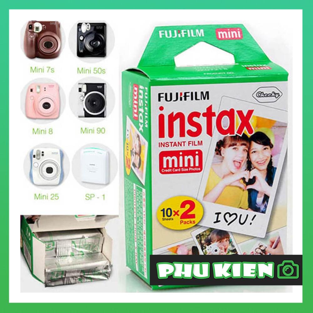 FILM INSTAX MINI Twin Pack (20 TẤM) - Fujifilm - Phim dành cho máy ảnh lấy ngay Instax Mini - Chính Hãng