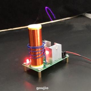 Bộ Chuyển Đổi Âm Thanh Tesla Coil Plasma Không Dây Dc 15-24v
