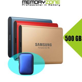 Ổ cứng SSD di động 500GB Samsung T5 USB 3.1 Gen 2 MU-PA500