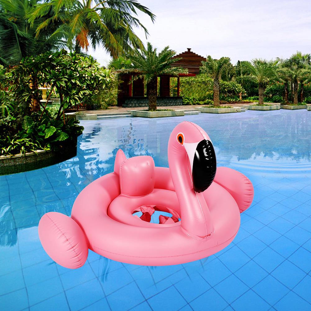 Shape Inflatable Pool Cute Animal Swimming Float New Aid Child Baby Ring Kids