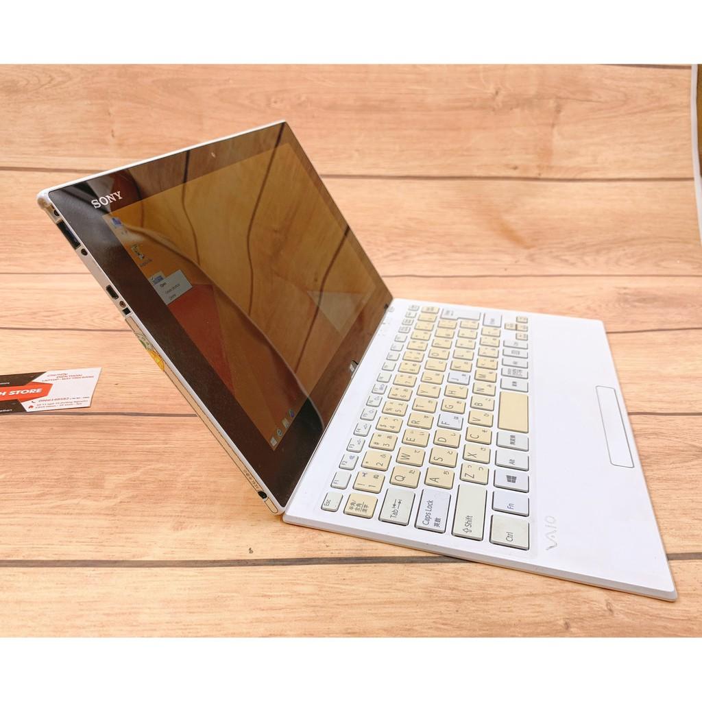 [Mã ELLAPDESK giảm 5% đơn 3TR] Laptop 2 trong 1 Sony Vaio TAP 11 - i5 4210 Ram 4G SSD 128G