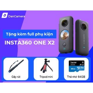 Camera Insta360 ONE x2 chính hãng bảo hành 1 đổi 1 12 tháng thumbnail