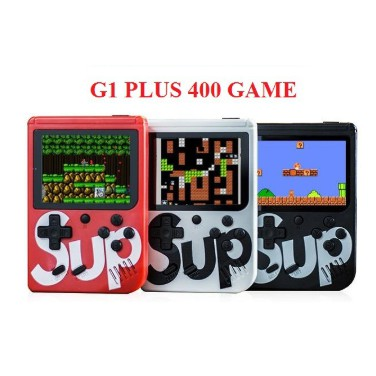 MÁY CHƠI GAME BOX 400 IN 1 PLUS 4 NÚT CẦM TAMáy Chơi Game Cầm Tay G1 Plus 400 In 1 / G1 - 186 In 1Y SUP Đủ màu