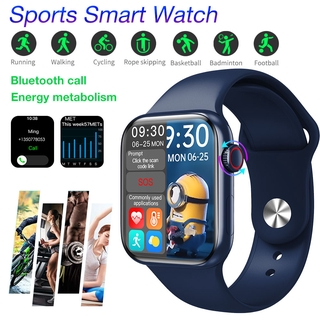 Đồng hồ thông minh Smart Watch HW16 1.72 Inch Bluetooth Call Fitness Band Smart Watch Waterproof Blood Pressure Heart Rate Fitness Watch Smart Split Screen Smartwatch For Xiaomi