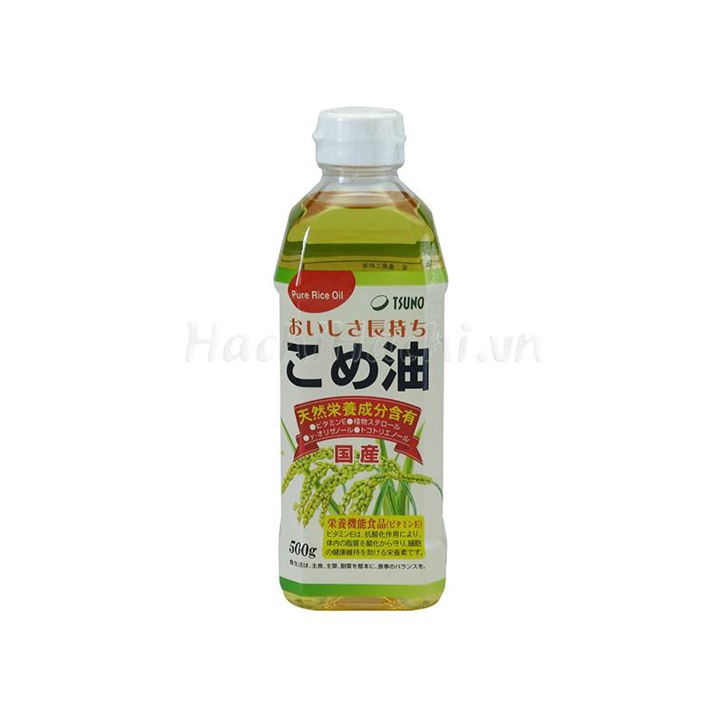 Dầu gạo Nhật Bản Tsuno nguyên chất - 500g