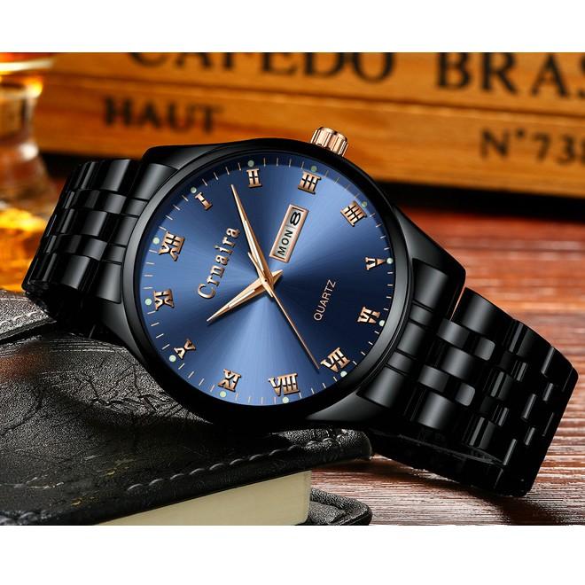 Đồng hồ nam CRNAIRA 8066 Lịch thứ ngày - Lịch lãm & Sang trọng