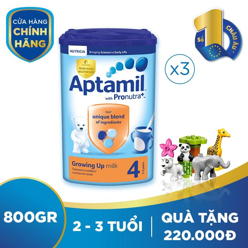 [Nhập ATPA1040K -40K đơn 999K] Bộ 3 hộp sữa dinh...
