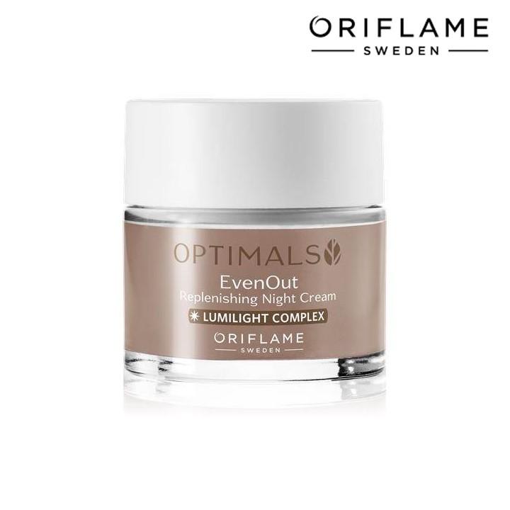 Kem dưỡng da ban đêm trị sạm nám Optimals Even Out Night Cream - Oriflame 32480