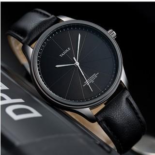 Đồng hồ nam Yazole 503 dây da thời trang sang trọng lịch lãm thumbnail