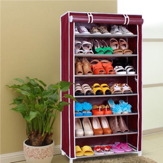 Tủ giày một buồng 7 tầng 6