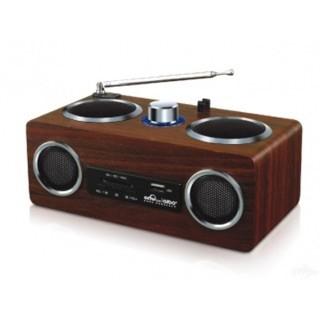 Loa nghe nhạc Aibo pn08 gỗ