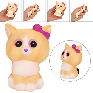 WX_Squeeze Cute Cat Animal Shape Scented Slow Rising Toy Stress Relief Squishy Gift