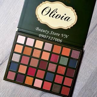 Bảng Phấn Mắt Olivia  [Tặng 1 Chì Kẻ Mắt Waterproof 50k] Beauty Creations 35 Eyeshadow Palette