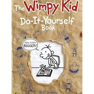 Sách văn học - Diary of a Wimpy Kid Do-It-Yourself Book thumbnail