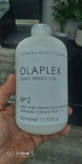 Ủ lạnh phục hồi tóc yếu, hư tổn Olaplex No2 525ml
