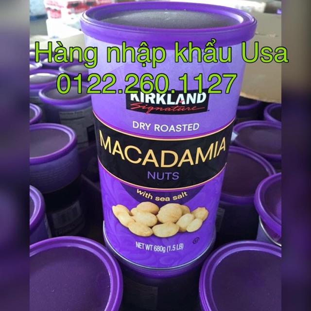 Hạt Macadamia cao cấp tẩm muối Kirkland 680g của Mỹ - 3022829 , 489268789 , 322_489268789 , 650000 , Hat-Macadamia-cao-cap-tam-muoi-Kirkland-680g-cua-My-322_489268789 , shopee.vn , Hạt Macadamia cao cấp tẩm muối Kirkland 680g của Mỹ