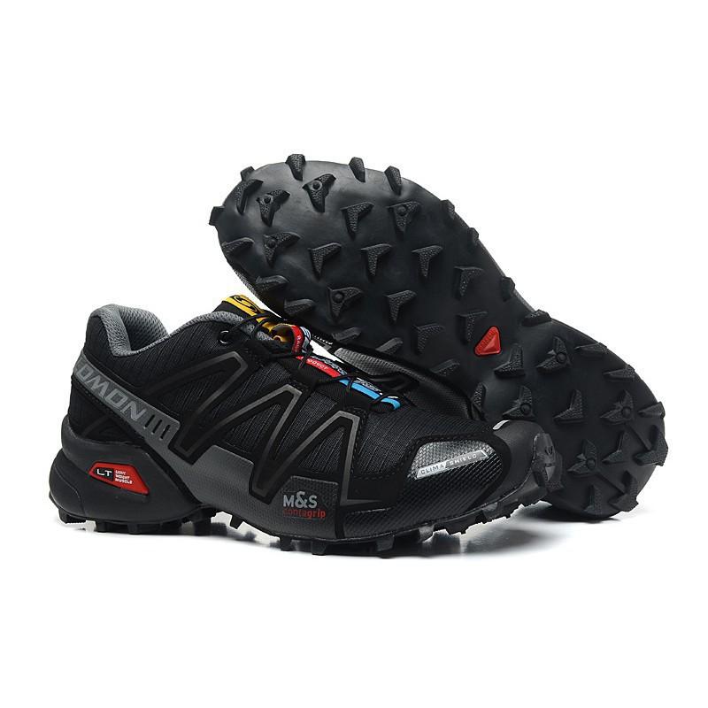 <AA> รองเท้าวิ่ง Unisex Salomon Speed Cross 3 CS สีดำ