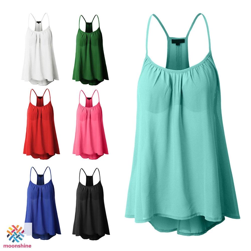 Áo voan hai dây thời trang mùa hè quyến rũ dành cho nữ - 15068449 , 2822883121 , 322_2822883121 , 211010 , Ao-voan-hai-day-thoi-trang-mua-he-quyen-ru-danh-cho-nu-322_2822883121 , shopee.vn , Áo voan hai dây thời trang mùa hè quyến rũ dành cho nữ
