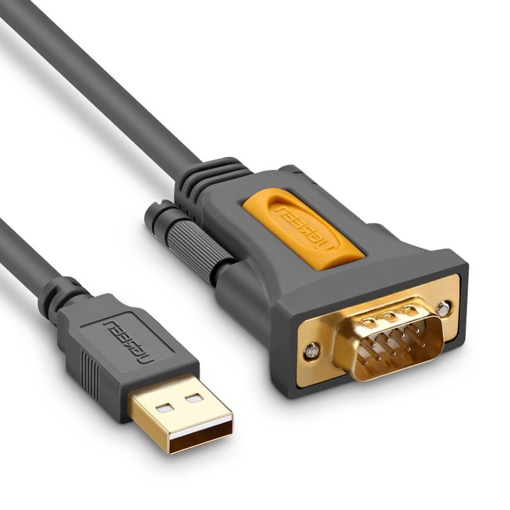 Cáp Chuyển USB To COM - USB To RS232 Dài 3M Ugreen 20223 Hàng Chính Hãng