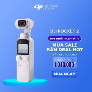 DJI Osmo Pocket 2 Sunset White Máy quay phim Chống Rung 4K 60fps Hàng chính hãng Bảo hành 12 tháng 1 Đổi 1 thumbnail