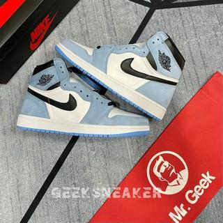 [GeelSneaker] Nguyên Bản | SC - Giày Jordan 1 High University Blue - Đại Học Xanh