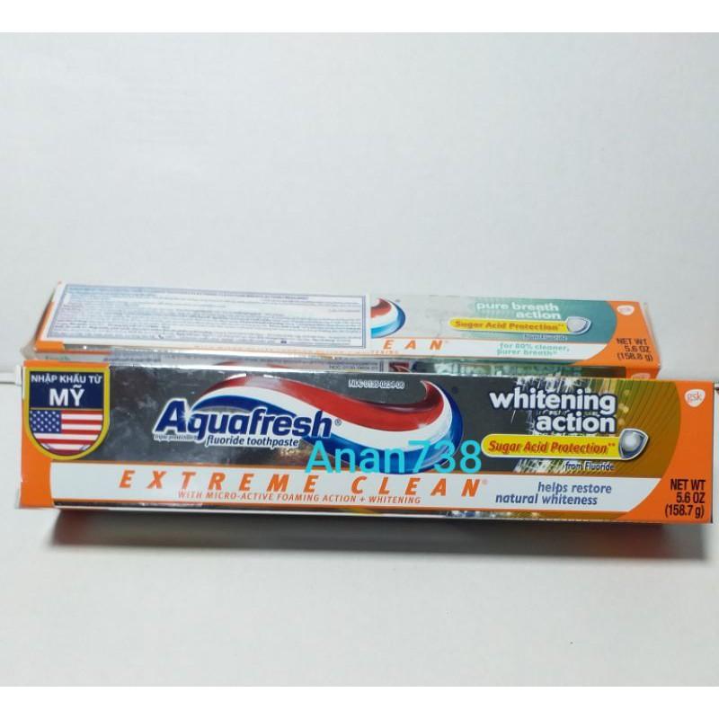 Kem Đánh Răng Cao Cấp Aquafresh 158,7gr - mỹ