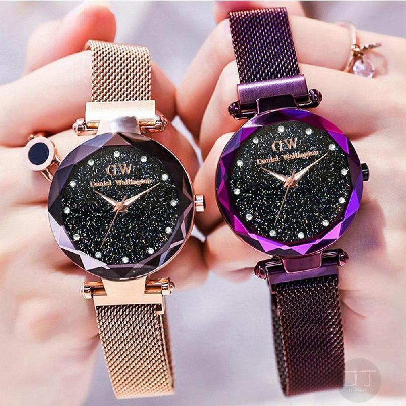 Fashion Lady Watch Star Waterproof Student Quartz Watch 711