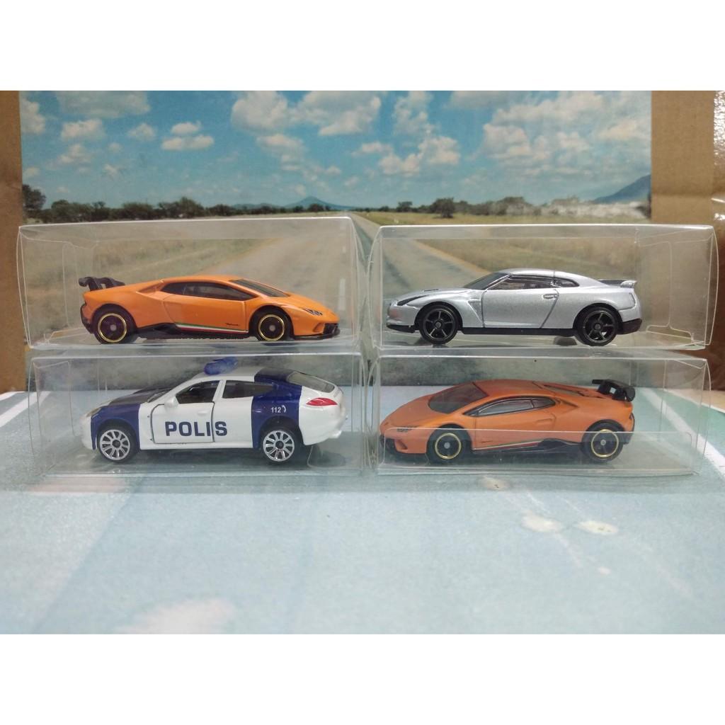 Hộp nhựa PVC, trong suốt bảo vệ xe mô hình 1:64 ( Hotwheels, Tomica…) – Hình minh hoạ, không bao gồm xe