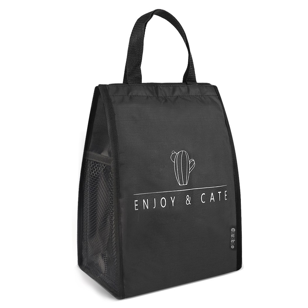 Túi đựng hộp cơm thiết kế có ngăn bên hông tiện dụng