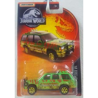 Xe mô hình Matchbox '93 Ford Explorer Jurassic Park GDP02