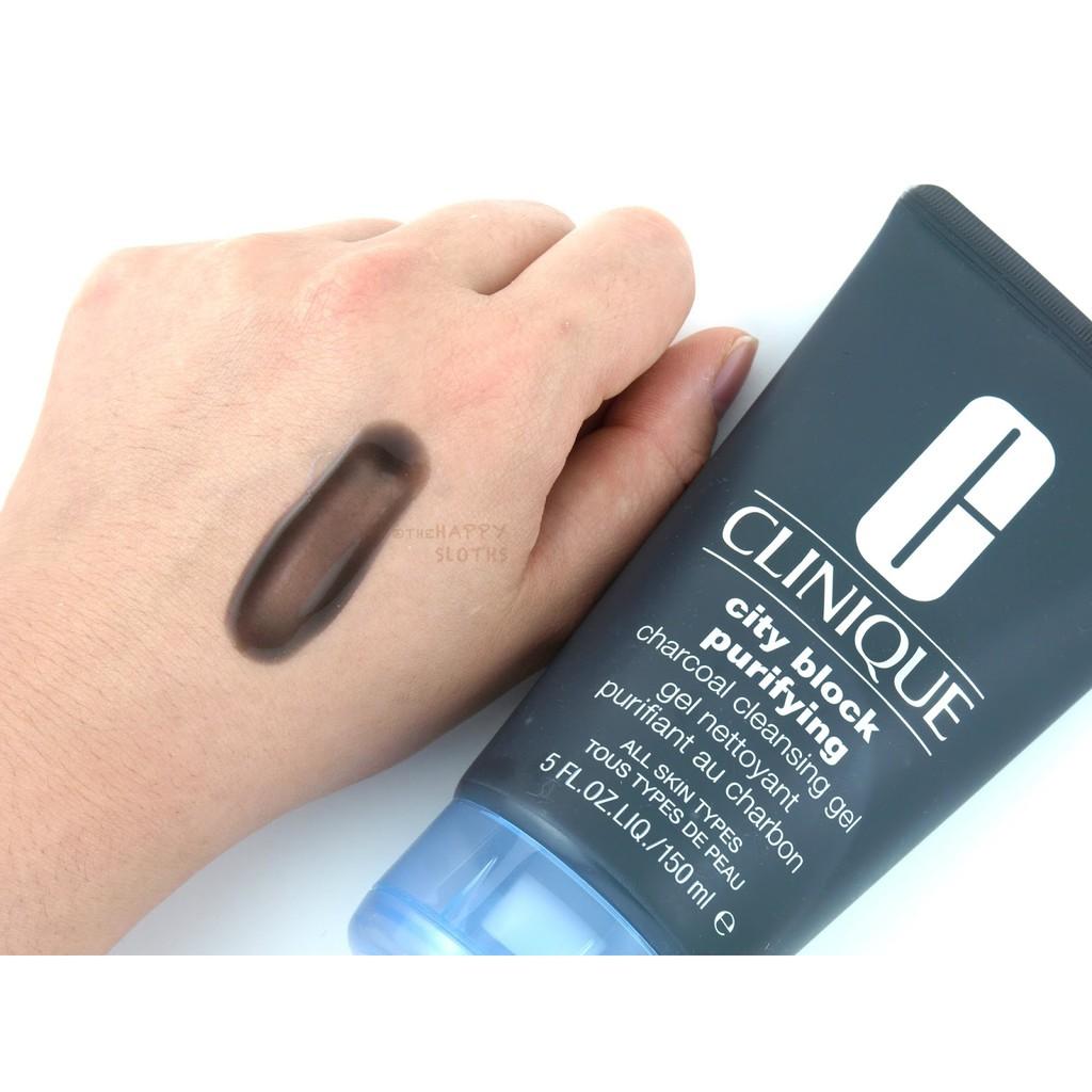 [Clinique] Sữa rửa mặt than hoạt tính City Block Purifying Charcoal Cleansing Gel - 2601933 , 832110498 , 322_832110498 , 180000 , Clinique-Sua-rua-mat-than-hoat-tinh-City-Block-Purifying-Charcoal-Cleansing-Gel-322_832110498 , shopee.vn , [Clinique] Sữa rửa mặt than hoạt tính City Block Purifying Charcoal Cleansing Gel
