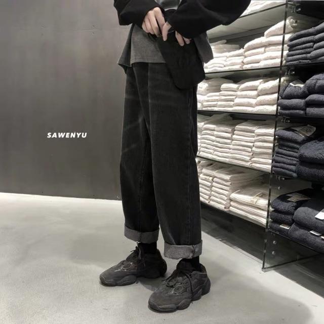 quần baggy nam nữ unisex ống rộng