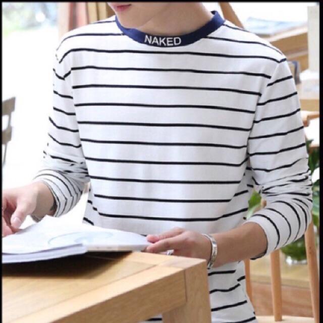 [Freeship từ 99K] Bộ sưu tập áo phông dài tay naked form Hàn