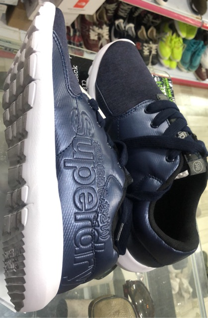 Giày nam xuất dư. size 42 màu xanh
