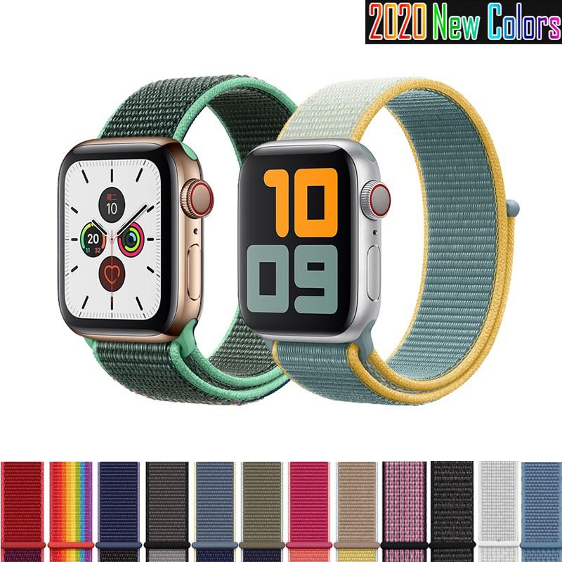 Dây đeo thể thao bằng nylon cho đồng hồ Apple Series 5/4/3/2/1 (42mm/44mm/40mm)