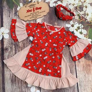 váy đầm cách tân bé gái ⚡FREESHIP⚡ Váy đầm đẹp cho bé yêu  Hàng Thiết Kế Cao Cấp cho bé từ 1 - 8 Tuổi