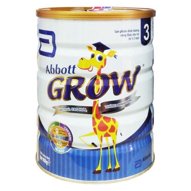 Combo 6 Sữa Bột Abbot Grow 3 - 900g