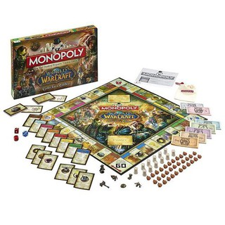 Monopoly Board Game Cards of World Of Warcraft
